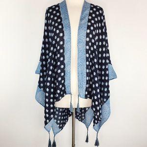 Lauren Conrad boho Daisy floral kimono OS
